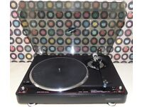 ADC 1700 Semi-Automatic Direct-Drive Turntable.
