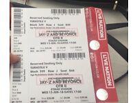 Beyoncé & JayZ Tickets @ Etihad Stadium