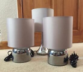 Silver Touch Lamps