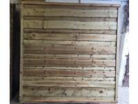 Wayneylap Heavy Duty Pressure Treated Wooden Garden Fence Panels 🌲