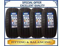 205/55R16 91V INFINITY 4 TYRES INCLUDING FITTING BALANCING ONLY £160 NEW TYRES 2055516