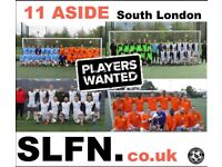 FOOTBALL TEAMS LOOKING FOR PLAYERS, 1 WINGER and 1 STRIKER NEEDED FOR SOUTH LONDON FOOTBALL TEAM rf2