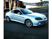Hyundai Coupe 2003 2.0L for sale. Exterior modified