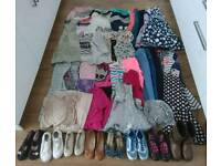Large bundle of girls clothes 58 items in total (size 9-10)
