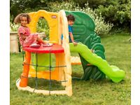 Bank Holiday Offer!!! Little Tikes Jungle Climber with Slide - RRP £249.99