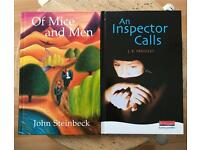 BRAND NEW Of Mice and Men / An Inspector Calls Novels Bundle
