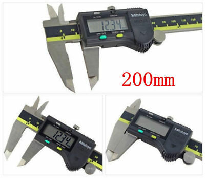 Mitutoyo 500-196-2030 200mm8 Absolute Digital Digimatic Vernier Caliper
