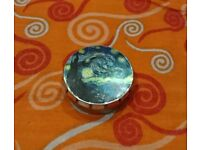 Antique Bronze Photo Art Locket - The Starry Night Locket with Necklace and Matching Gift Tin