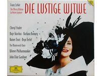 Franz Lehar - The Merry Widow (Terfel, Bonney, Studer) Boxed CD