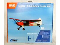 RC 5-CH Plane E-Flite Ultra Micro AS3X Carbon Cub SS (BNF) – New, Cash on collection