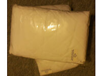 2x Single Quilted Fitted Mattress Protector Size SB