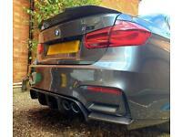 BMW M3 M4 V Style Carbon Fibre Diffuser F80 F82 F83