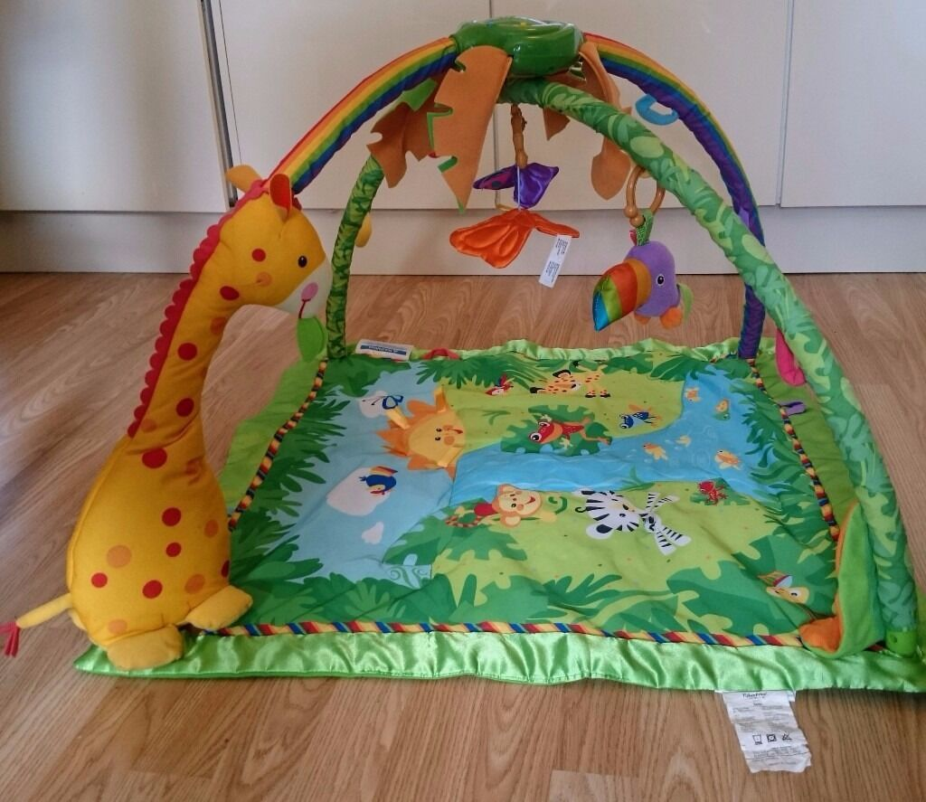 PLAY MAT - Fisher-Price Rainforest Gym - RRP £60
