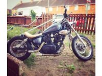 Yamaha virago bobber 125