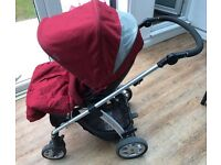 Mamas & Papas Sola Plum Pushchairs Single Seat Stroller
