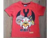 Angry Birds Star Wars T-shirt George (Asda) 3-4 years