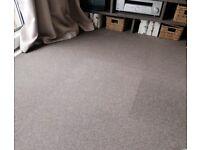 Fab condition HEUGA cut pile carpet tiles 70 in total BARGAIN