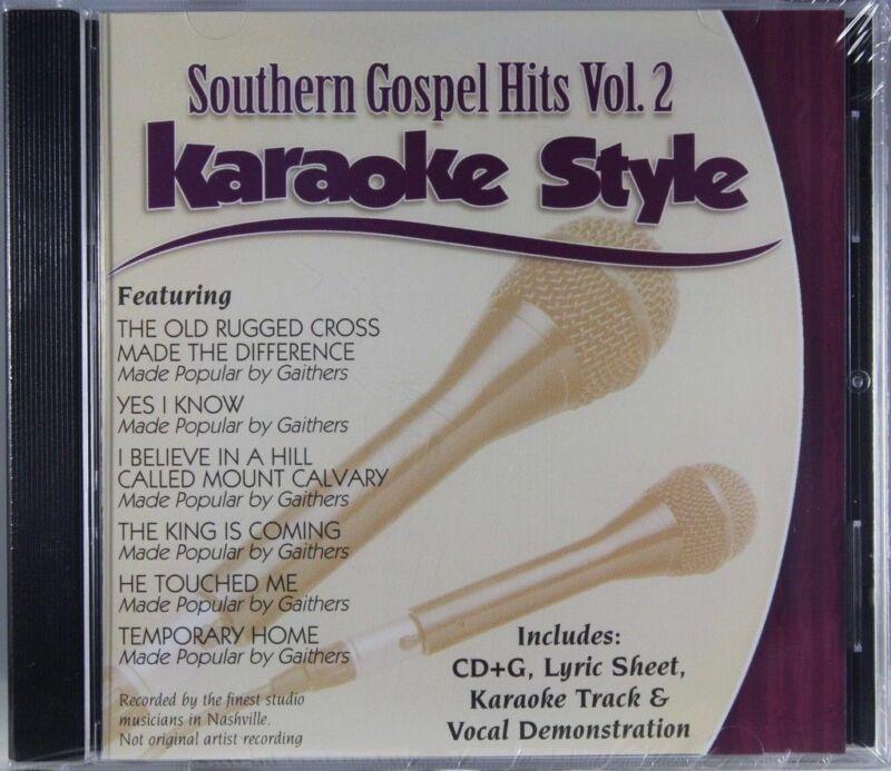 Southern Gospel Hits Volume 2 Christian Karaoke Style NEW CD+G Daywind 6 Songs