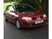 06 Renault Megan 15 dci Diesel £30 a year rd tax long mot 2 keys drives perfect