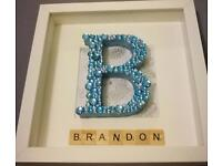 Bespoke handmade box frame made to order