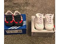 Boys soft sole trainers