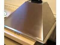 Hotpoint PHPN74FAMX Built In 70cm 3 Speeds Chimney Cooker Hood Stainless Steel
