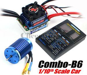 Hobbywing Combo EZRUN-60A-SL Brushless ESC + 9T/3650 4300KV Motor 1/10 RC Car