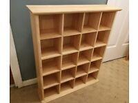John Lewis Rubberwood Storage units
