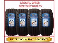 245/45ZR17 95W GENCO 4 TYRES INCLUDING FITTING BALANCING ONLY £200 NEW TYRES 2454517