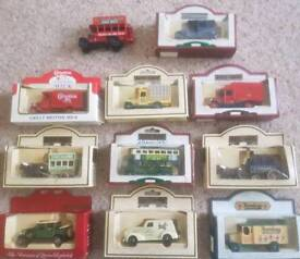 Days Gone various cars boxed. 11 in total