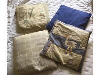 4 Habitat and 1 Laura Ashley cushions
