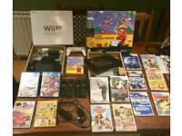Wii U excellent condition PLUS GAMES Christmas ❤️❤️❤️