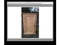 Pine wall cabinet - new