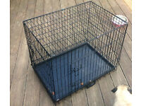 Dog crate, cage for sale - very little use - good condition