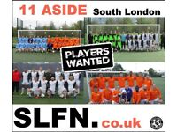 FOOTBALL TEAMS LOOKING FOR PLAYERS, 1 DEFENDER, 1 STRIKER NEEDED FOR SOUTH LONDON FOOTBALL TEAM: n3