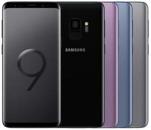 Samsung Galaxy S9 SM-G960F/DS / SM-G9600 Dual SIM 64/128GB Coral Blue Midnight Black / Titanium Gray - Factory Unlocked