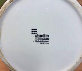 Steelite Interntional Tea pots and Milk Jug sets brown pottery job lot