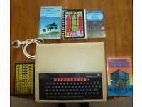 BBC B computer and books