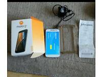 Motorola G4 mobile phone under warranty