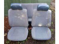 VW MK2 Golf 5dr blue seats/door cards/parts