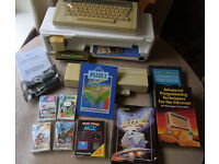 Acorn Electron computer with Plus-1 expansion