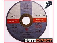 25 angle grinder discs 115x1x22 cutting discs inox steel metal cutting wheel abrasive cheap