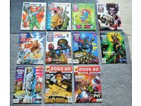 11 Copies of 2000AD Comic