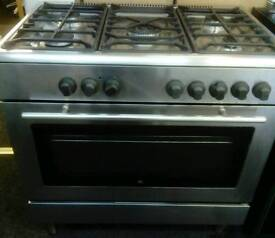 Whirlpool 5 Ring gas cooker 90CM