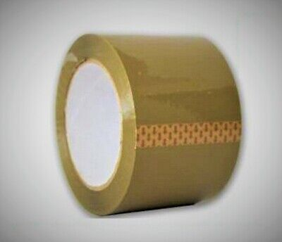Tan Brown Shipping Tape 2 X 110 Yards New Moving Packing Boxes Sealing Tapes