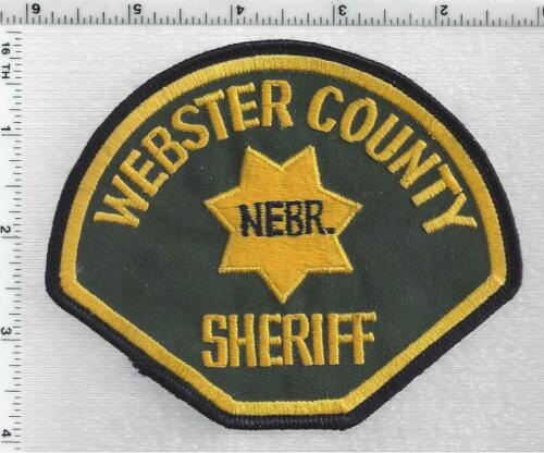 Webster County Sheriff (Nebraska) 1st Issue Shoulder Patch