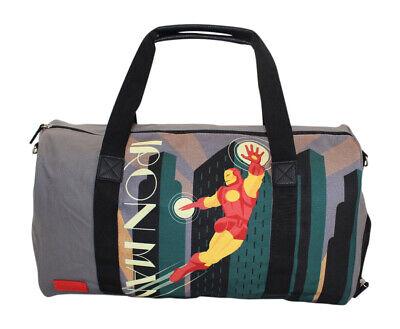 Iron Man Costume Design (Marvel Iron Man Licensed Cosplay/Costume Travel Duffle Bag BB)