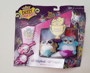 Fur Reals Dizzy Dancers Hillyhoot & Chipalu Whirlpower Collection Ages 4+