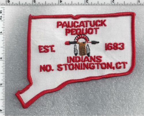 Paucatuck Pequot Indians (No. Stonington, Connecticut) 1st Issue Shoulder Patch