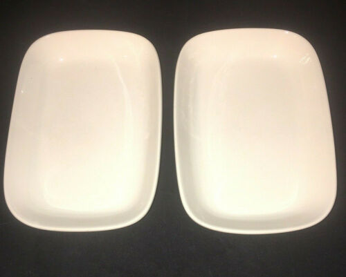 "Braniff International Airlines Serving Plates Dish CS-5  7.5""x5.5"" Lot of 2"